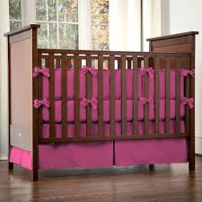 Hot Pink And Black Crib Bedding by Baby Nursery Captivating Girl Pink Baby Nursery Room Design And