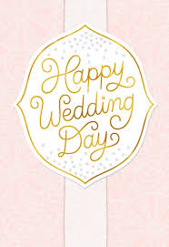 pink happy wedding day congratulations greeting cards hallmark