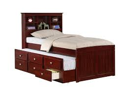 Pottery Barn Twin Bed Bedroom Twin Captains Bed With 6 Drawers Captains Bed Captain