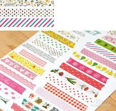 washi tape nice printing washi tape 32 designs vintage lace dotty check
