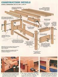 Woodworking Bench Top Plans by 1089 Best Woodworking Workbenches Images On Pinterest Woodwork
