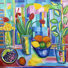 fruit and flowers still with fruit and flowers on canvas