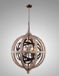 Antique Wood Chandelier Birch Antique Wood Chandelier Ic3146 4 Crystals Chandelier Globe