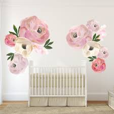 Nursery Wall Decal Nursery Wall Decals And Removable Wallpaper Peel And Stick To