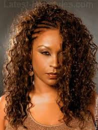 the half braided hairstyles in africa one side braided black hairstyles google search black hair