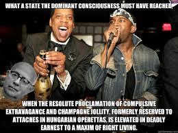 Kanye And Jay Z Meme - jay z kanye west adorno quickmeme