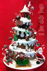 35 best christmas cakes and cupcakes images on pinterest