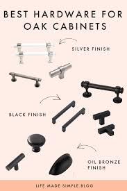 what hardware looks best on black cabinets the best hardware to update oak cabinets