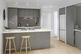 Kitchen With Track Lighting by Apartment Modern Black And White Apartment Kitchen With Track