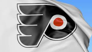 Flag Of Philadelphia Close Up Of Waving Flag With New Jersey Devils Nhl Hockey Team
