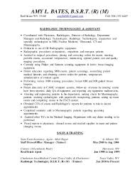 x ray technician resume professional radiology technician