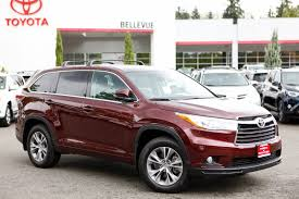 used 2015 toyota highlander for sale bellevue wa