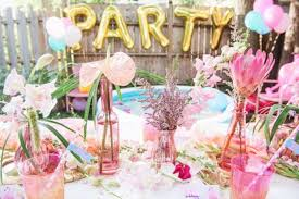party centerpieces for tables 24 decorations that will make any pool party awesome shelterness