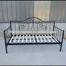 metal frame sofa bed wood slat metal frame sofa bed iron day bed buy sofa bed day bed