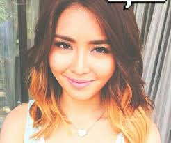katrine bernardor hair color 46 images about kathryn bernardo modified pics on we heart it
