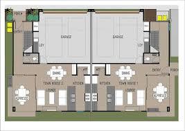 Duplex With Garage Plans Duplex Home Builders Investors Dream Abbott Builders Brisbane