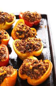 quinoa stuffed peppers minimalist baker recipes