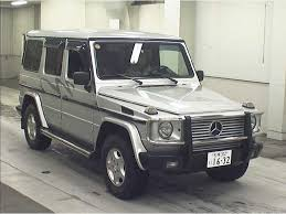 mercedes g class used for sale used mercedes g class for sale at pokal japanese used
