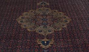 Signed Persian Rugs Vintage 1950 U0027s Signed Persian Tabriz Carpet 11 U00275
