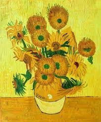 sunflowers for sale vase with fifteen sunflowers by gogh canvas painting for sale