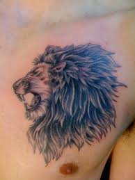 chest quote tattoos for men 64 lion tattoo designs for men and women inspirationseek com