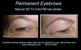 permanent makeup pictures before and after las vegas clients
