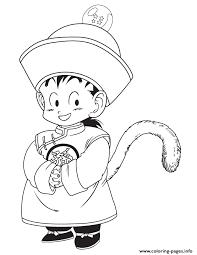dragon ball kid gohan coloring coloring pages printable