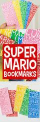 super mario thanksgiving printable mario bros bookmarks carrie elle
