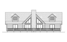 log homes floor plans the tuscarora 1 855 ft 3 beds 2 baths white log homes