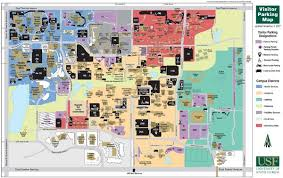 map usf of south florida ta cus map 4202 east fowler