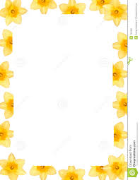 border writing paper daffodil frame stock photography image 701362 border daffodil frame paper writing
