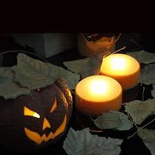 amazon com candle choice set of 2 led pumpkin lights with remote