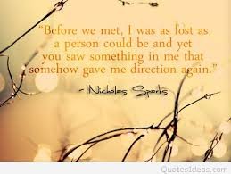 wedding quotes nicholas sparks quote nicholas sparks