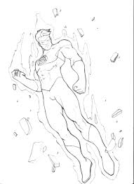 printable superhero coloring pages