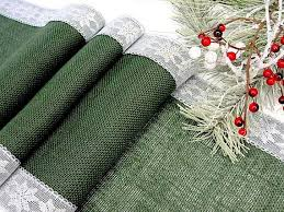29 table runners images christmas table