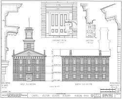 house architecture drawing the historic american buildings survey during the new deal era