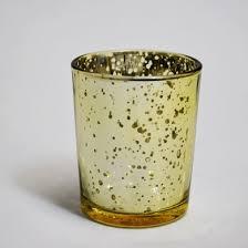 mercury tea light holders mercury glass votive tea light candle holder gold 2 5 inches 6