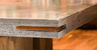 concrete and wood dining table wood and concrete dining table cheng concrete exchange