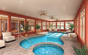 House Plans With Pools Kitchen Extravagant Indoor House Plans With Pools Spacious Room