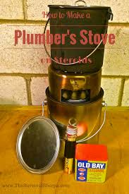 how to make a plumber u0027s stove on steroids for cooking and warmth