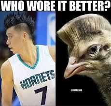 Jeremy Lin Meme - jeremy lin vs bird http nbafunnymeme com nba funny memes