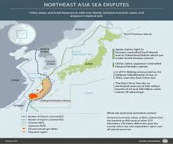 East China Sea Map by East China Sea Dispute Infographic Anadolu Agency