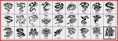 27 dragon tattoo designs as photoshop brushes photoshop free brushes