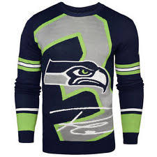 nfl sweaters seattle seahawks nfl sweaters ebay