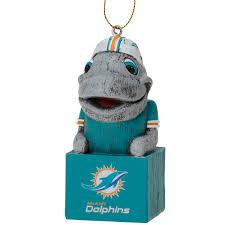 miami dolphins mascot ornament nflshop