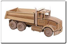 Plans For Wood Toy Trucks by Dump Truck Pattern No Tj58 Wood Toys And Miniatures