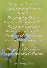 Empty Chair Poem Top Poems For Happy Christmas 2015 Christmas Idol