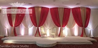 Curtains Wedding Decoration Venues