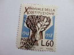1948 1958 l 60 old italiane postage stamp numismatics