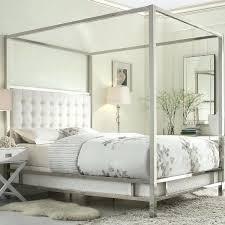 White Metal Kingsize Bed Frame Metal King Bed Headboards Pozvoni Me
